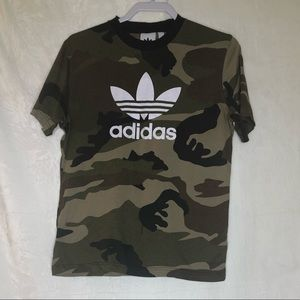 Adidas Camouflage T-shirt